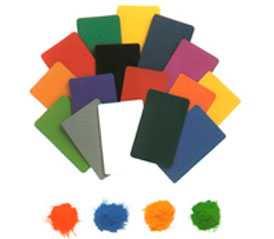 Эпоксидно-полиэфирная порошковая краска Серия 09 (гладкая полуглянцевая)