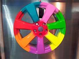 Полиэфирные порошковые краски Серия 17 (грунт колесный)