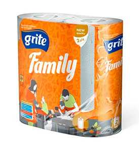 Бумажные полотенца Grite Family mix
