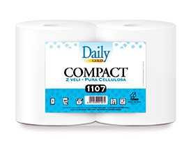 Полотенца бумажные рулонные Daily