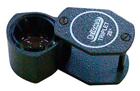 Лупа просмотровая ЛП-4-20x