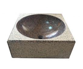 Мойка М4 из камня