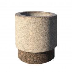 Урна для мусора 350х480 мм из камня