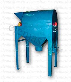 Сортировочная машина барабанного типа для кофе, ореха, семечек, специй (500 кг./час)