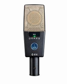 Микрофон AKG C414 XLS, студийный конденсаторный , суперкардиоида, 20-20000Гц