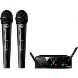 Радиомикрофон с двумя ручными передатчиком AKG WMS40MINI 2VOC-SET ISM2/3, UHF, 40-20000Гц