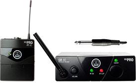 Инструментальная радиосистема с портативным передатчиком AKG WMS40MINI Instrumental set ISM3, UHF