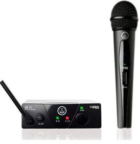 Радиомикрофон с ручным передатчиком AKG WMS40MINI VOC-SET ISM1, UHF, 40-20000Гц