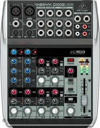 Микшерный пульт Behringer XENYX Q1002USB, 2 mono, 4 stereo, 1 AUX-шина, USB