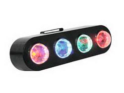 Светодиодный прибор Eurolite LED CPE-4 Flower Effect, 4х3Вт светодиодов RGBA