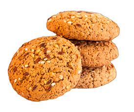 Печенье овсяно-ржаное Кобринское обогащённое витаминами