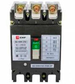 Выключатель автоматический ВА-99М 250/250А 3P+N 25кА EKF Basic