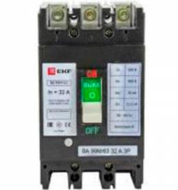 Выключатель автоматический ВА-99М 63/32А 3P 20кА EKF Basic