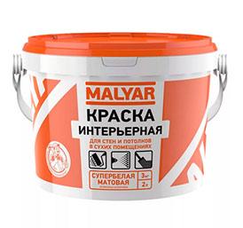 Воднодисперсионная краска MALYAR интерьерная