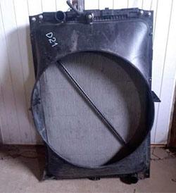 Радиатор охлаждения DAF 105