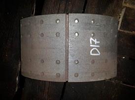 Колодка задняя DAF XF 105