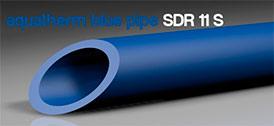 Трубы для промышленного водоснабженяе и отопления blue system SDR 11 S