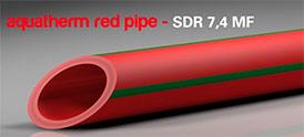 Трубы для пожаротушение red system SDR 7,4 MF