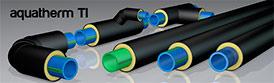 Трубы предизолированные для трубопровода aquatherm ti