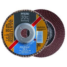 Круг шлифовальный лепестковый (КЛТ) POLIFAN PFC 125 А 40 PSF