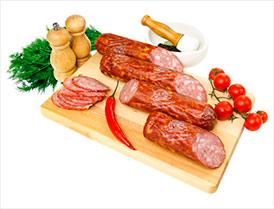 Колбаса Пикник полукопченая первый сорт