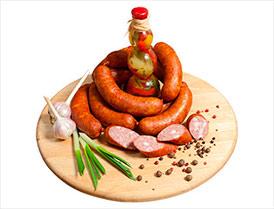 Колбаса Для гриля премиум полукопченая второй сорт
