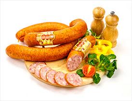 Колбаса Вясковая полукопченая второй сорт