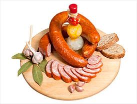 Колбаса Чесночная премиум полукопченая второй сорт