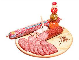 Колбаса Волковысская гранд сырокопченая салями высший сорт