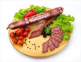 Колбаса Элитная особая сыровяленая полусухая высший сорт