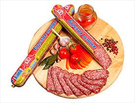 Колбаса Барская особая сыровяленая полусухая высший сорт