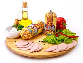 Колбаса Купеческая классик высший сорт