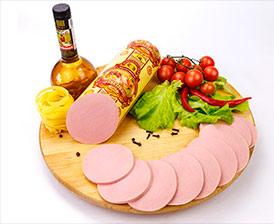 Колбаса Докторская ароматная классик высший сорт