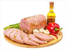 Юбилейный гранд продукт из свинины и субпродуктов вареный