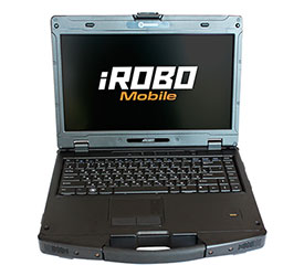Ноутбук защищенный iROBO-7000-N410 - IPC2U