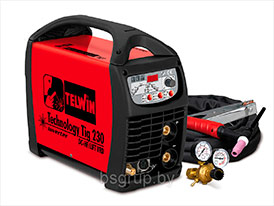 Сварочный аппарат TECHNOLOGY TIG 230 DC-HF/LIFT VRD + ACC TELWIN