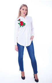 Блузка женская М-0835 - ПСЖ