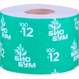 Бумага туалетная Амигус БиоБум 100 на втулке