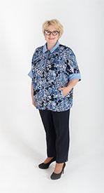 Блузка женская М-0821- ПСЖ