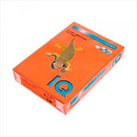 Бумага цветная IQ COLOR, оранжевый, 80 г/м2, А4, 500 л OR43