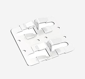 Кляммер крепежный рядовой 70x10 - АРСЕНАЛМЕТАЛЛ