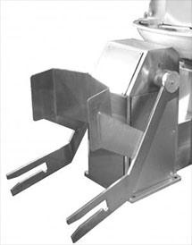 Подъемник-загружатель опрокидной для фаршемешалок
