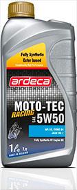 Моротное масло 2-ух тактные MOTO-TEC RACING 5W50