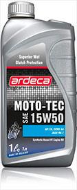 Моротное масло 2-ух тактные MOTO-TEC 4T ST 15W50