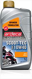 Моротное масло 4-ух тактные SCOOT-TEC 10W40