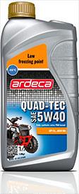 Моротное масло 4-ух тактные QUAD-TEC 5W40