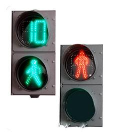 Светофоры пешеходные с отсчетом времени