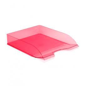 Лоток горизонтальный ДЕЛЬТА розовый