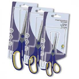 Ножницы с резиновыми вставками 21,5см Оffice Point
