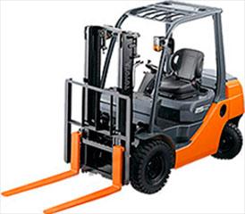 Спецтехника для склада Погрузчики дизельные Toyota грузоподъемностью от 1.0 тонны до 3.0 тонн